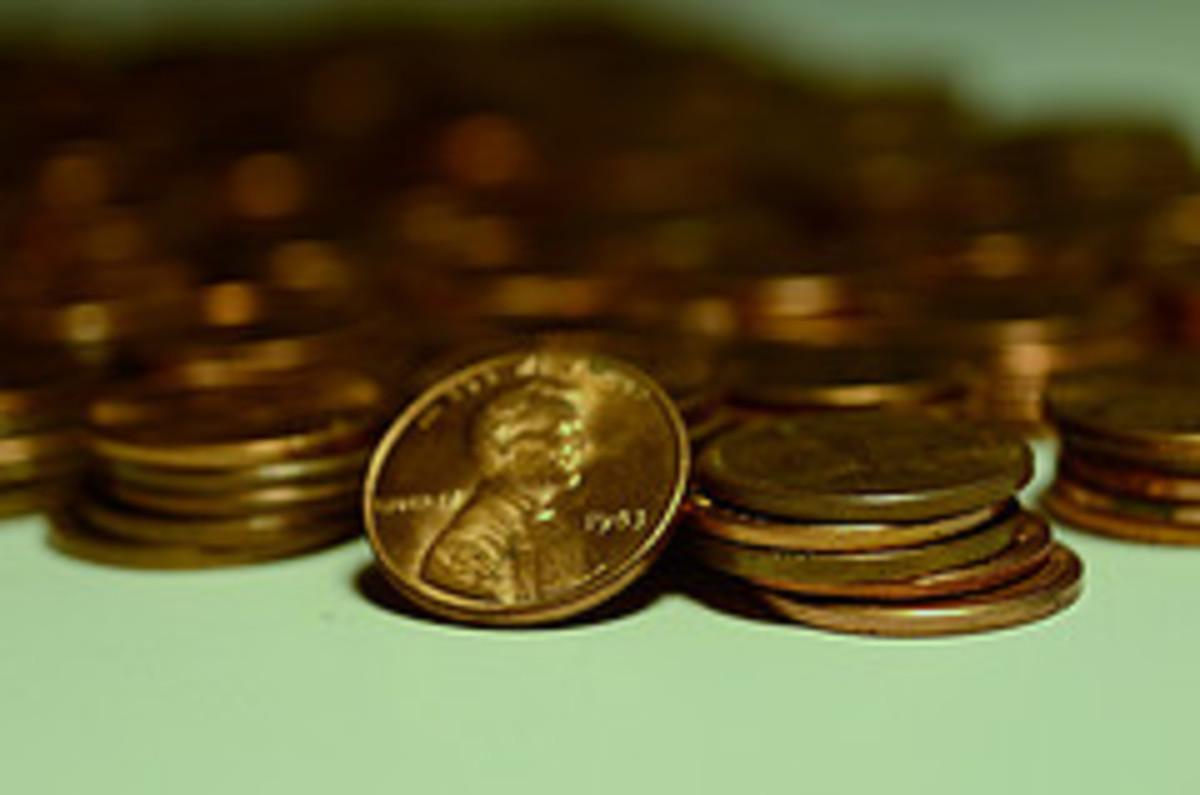 Sometimes I make pennies!