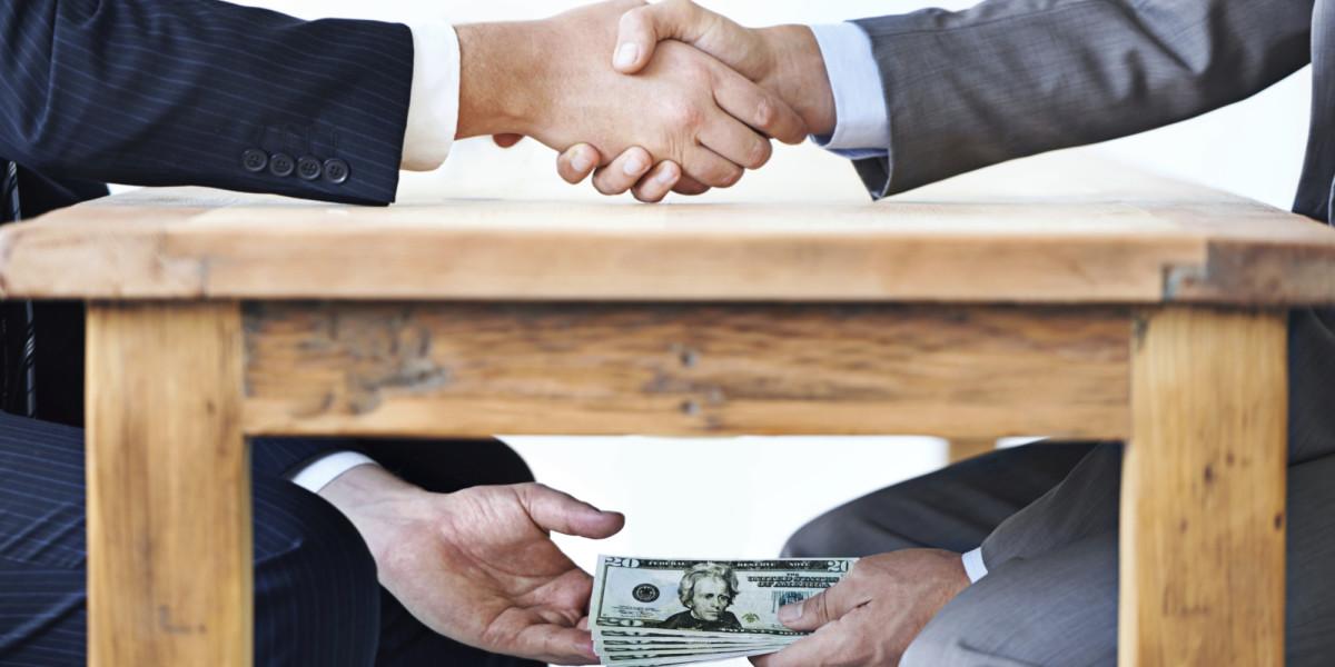 Corruption undermines economic development