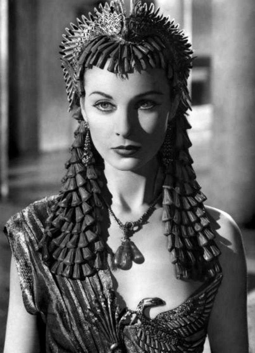 Vivien Leigh as Cleopatra