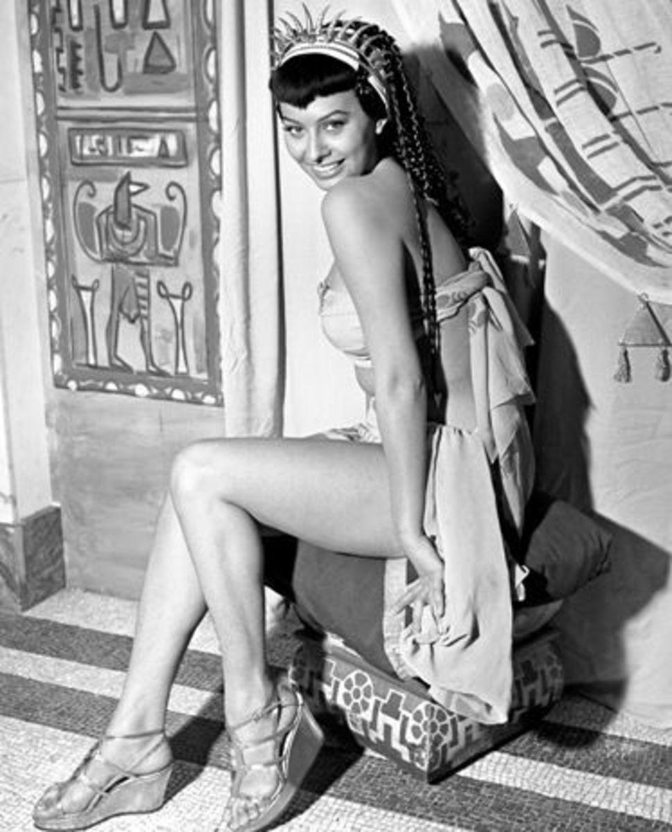 Sophia Loren as Cleopatra