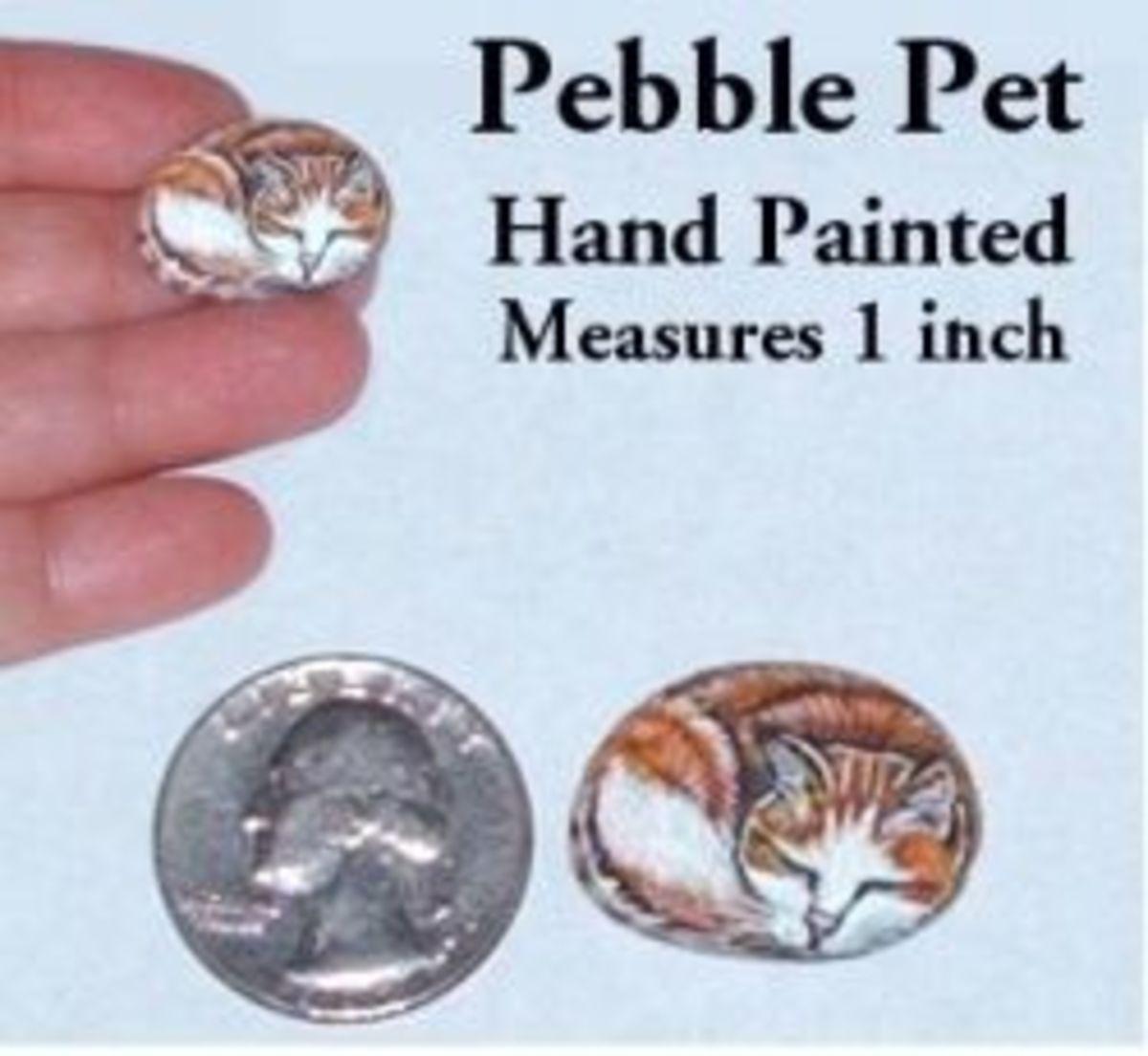 Lisa Carter's tiny Pebble Pets