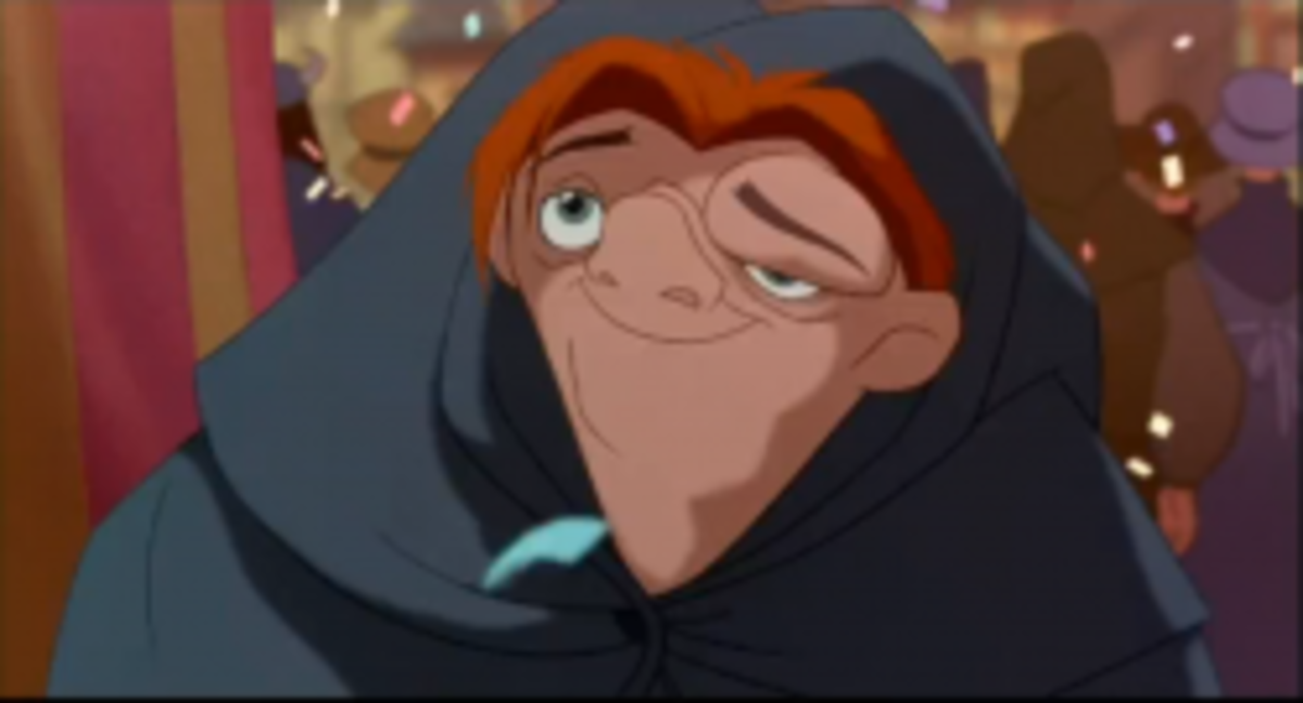 Disney Quasimodo voice by Tom Hulce