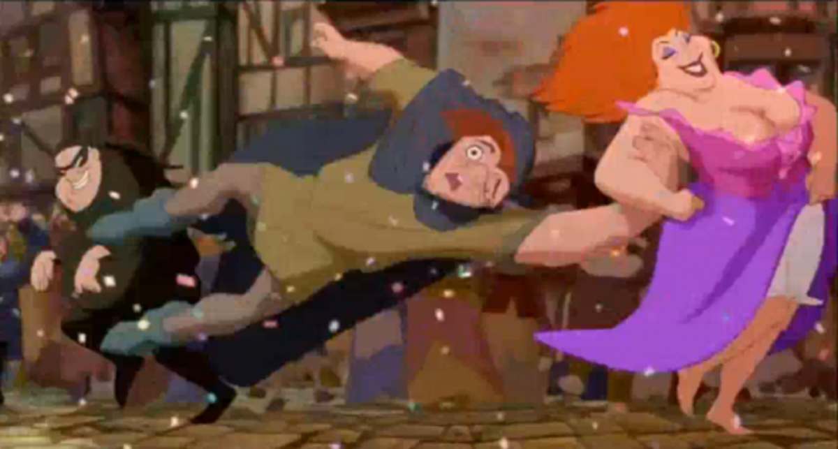 Disney Quasimodo getting in on the fun