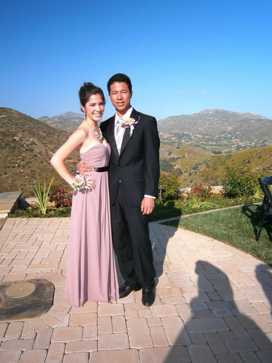 My son, Aaron,  with his date, Lauren.
