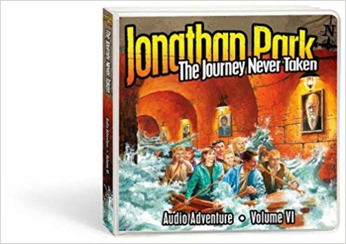 The Journey Never Taken (Jonathan Park) audio CD set