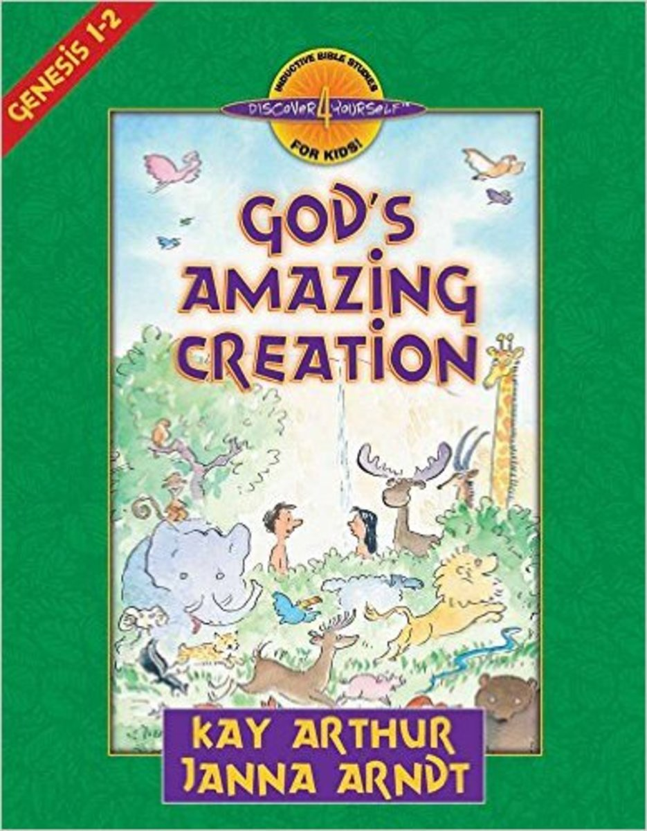 God's Amazing Creation: Genesis, Chapters 1 and 2 (Discover 4 Yourself Inductive Bible Studies for Kids) by Kay Arthur - Image credit: amazon.com