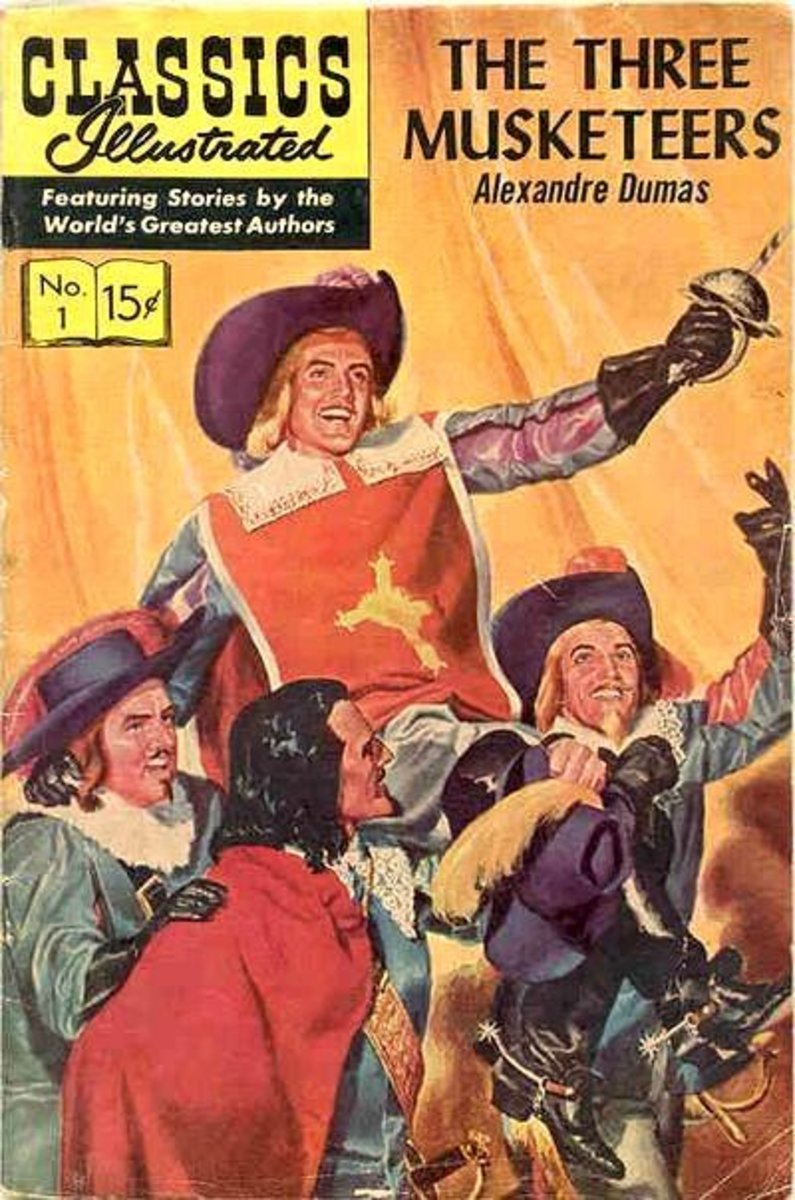 Classic Illustrated no: 1 - The Three Musketeers by Alexandre Dumas