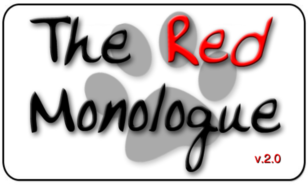 The Red Monologue 2.0 - From the Big Bad Wolf's Big Mouth to Your Big Eyes