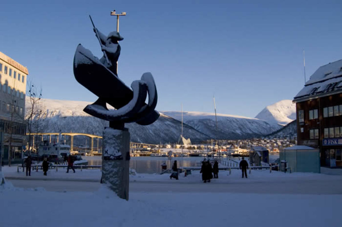 "The Exotic city of Tromso the Paris of the North and ""Gateway to the Arctic""."