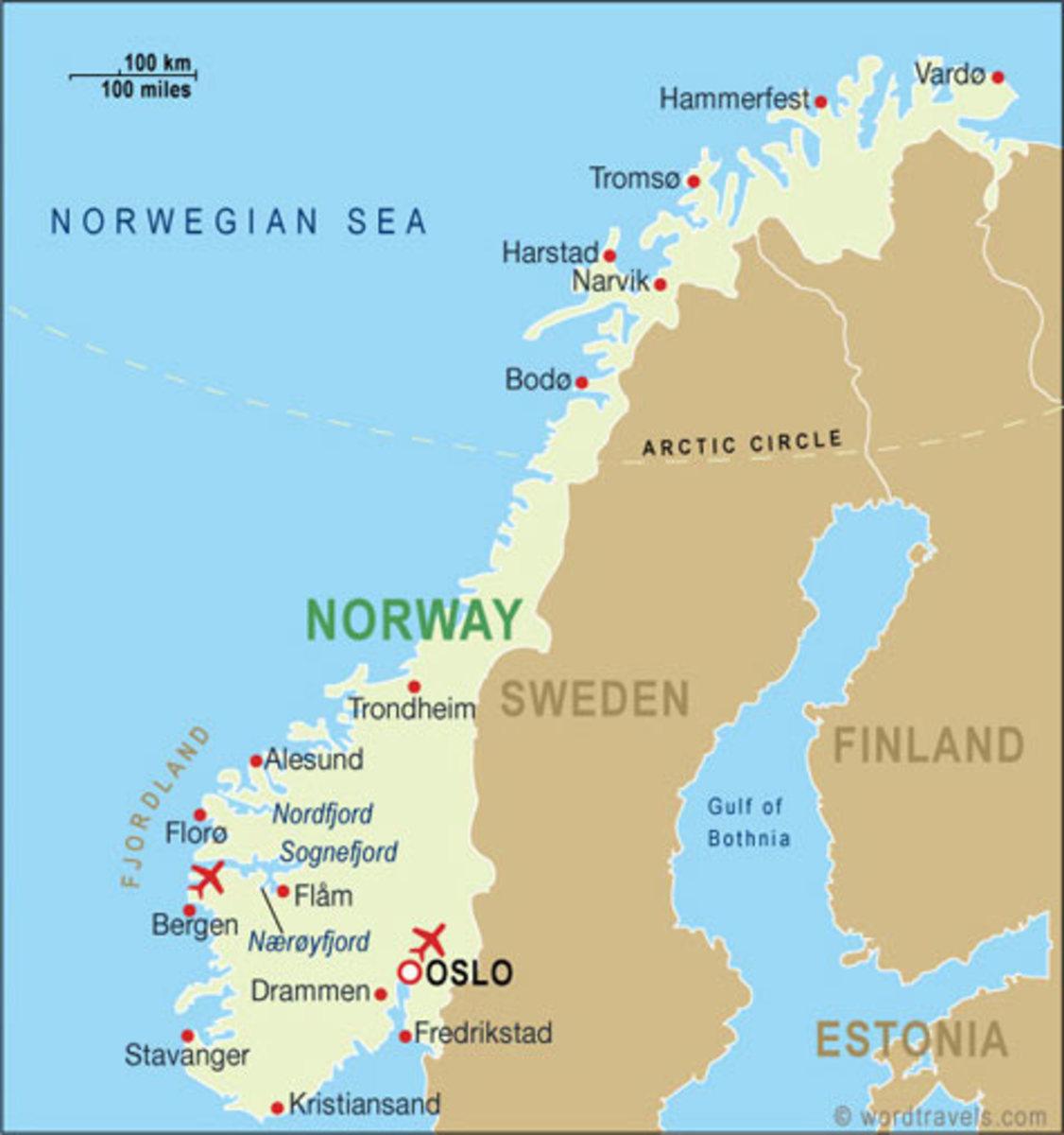 Tromso City, Norway