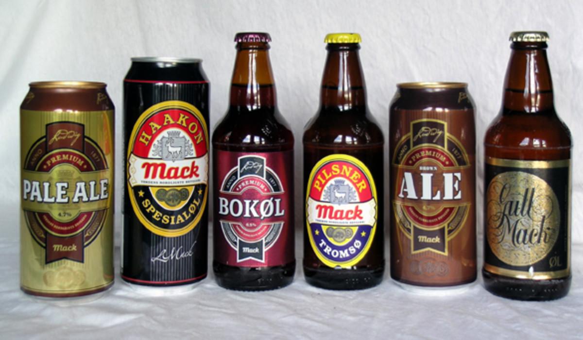 Mack Brewery Beers