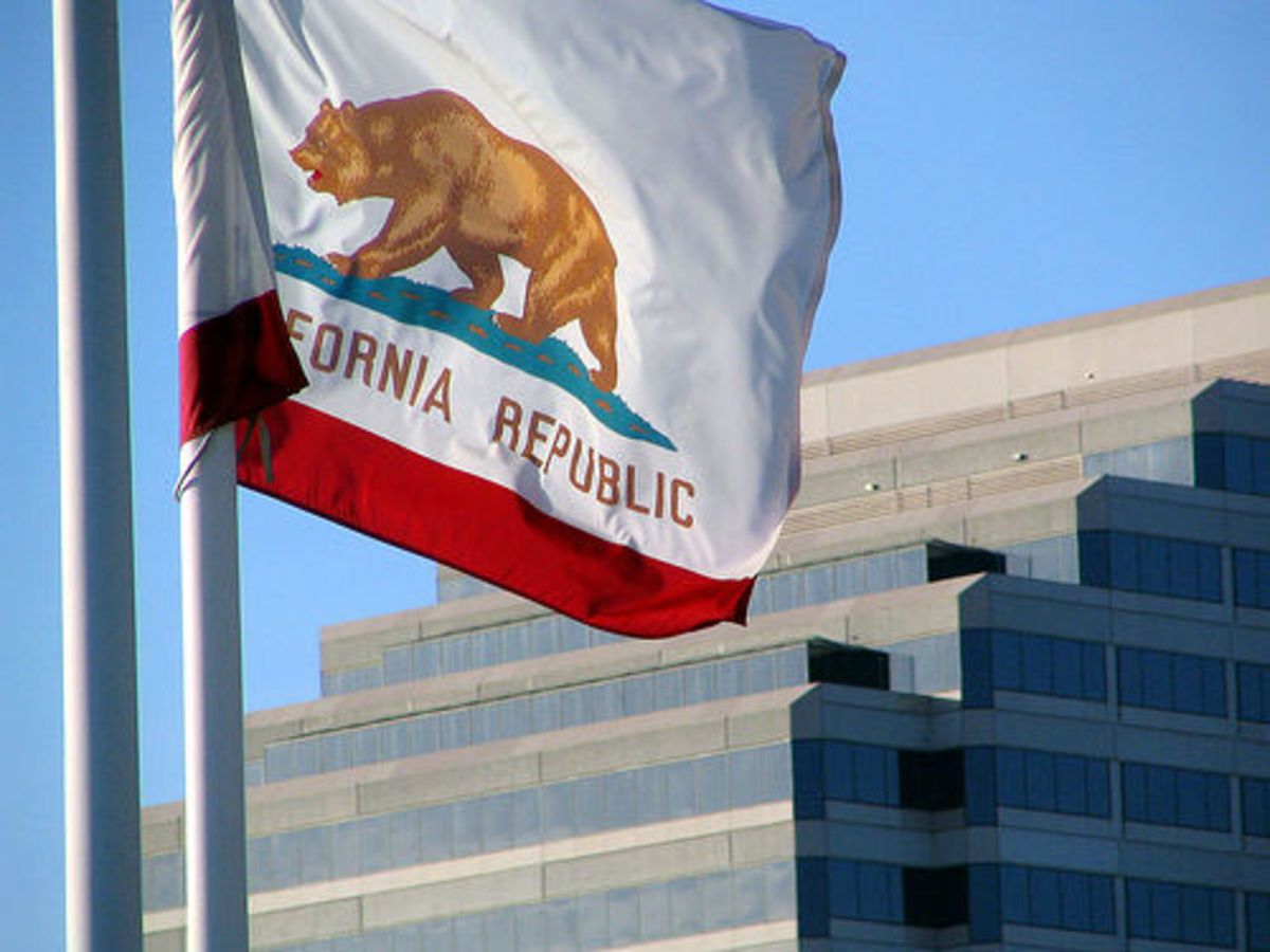 California is the eighth largest economy in the world.