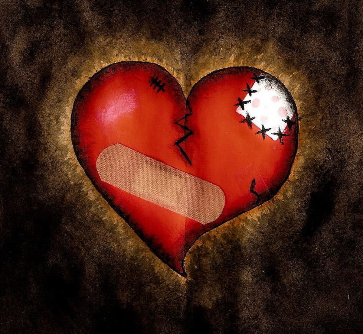 If only a Band-Aid would mend your heart. source forgiveness.com