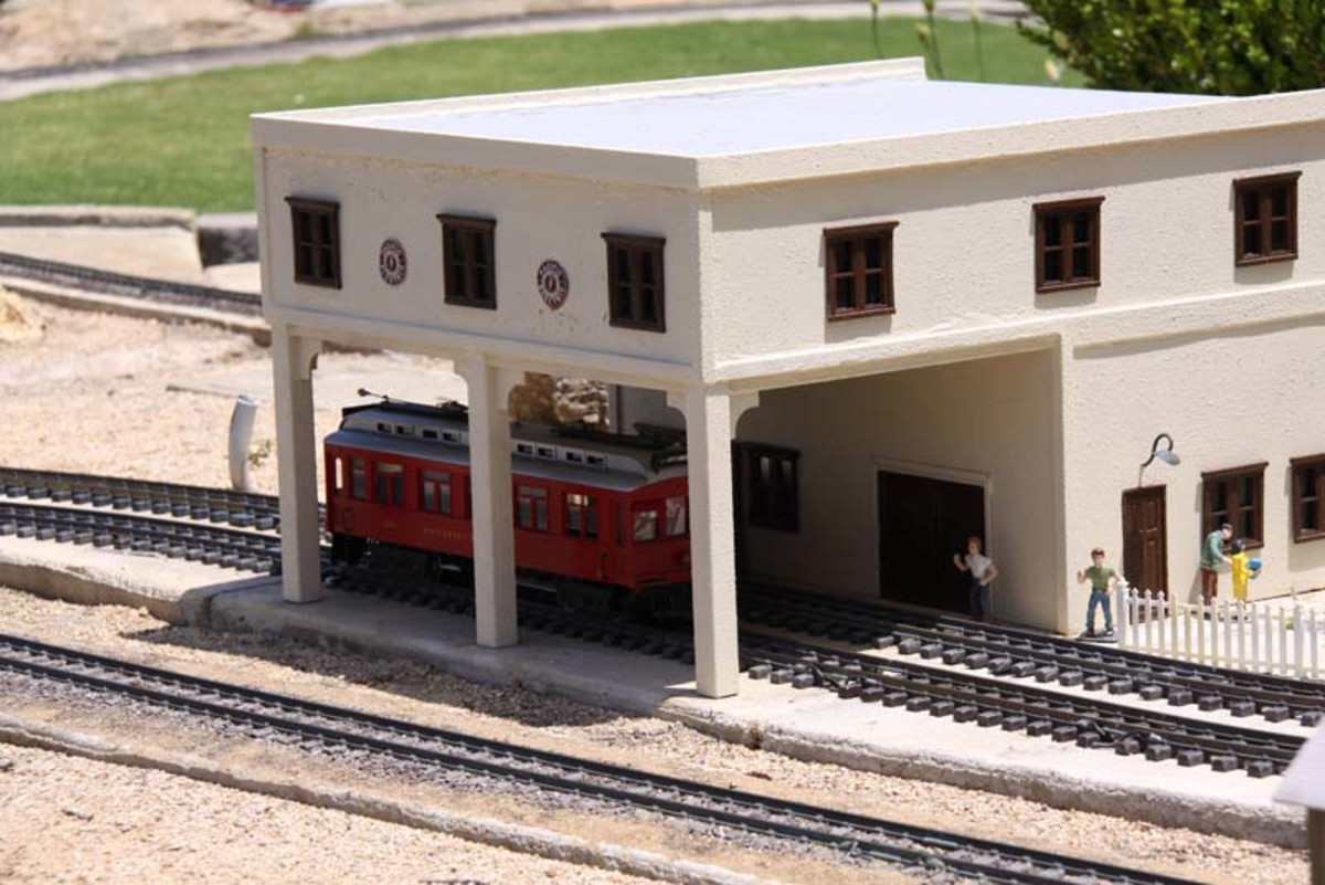 G Scale Pacific Electric at L.A. County Fair