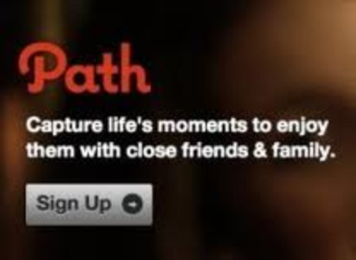 Path is a new social network that limits users to  50 close friends