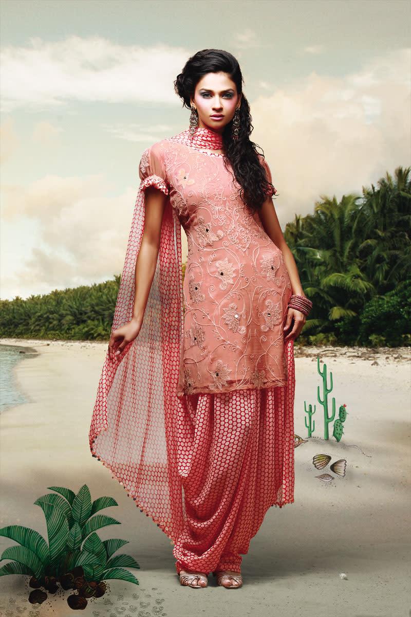 Salwar Kameez Stylistic Designs