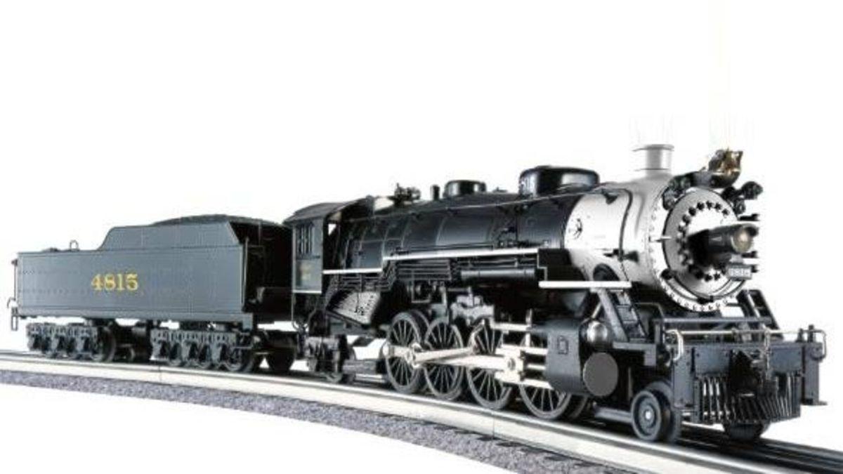 Model trains were popular too