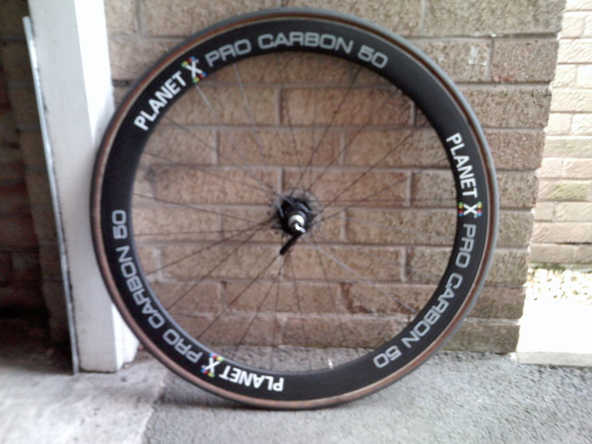 Planet X Deep Section Carbon Wheels