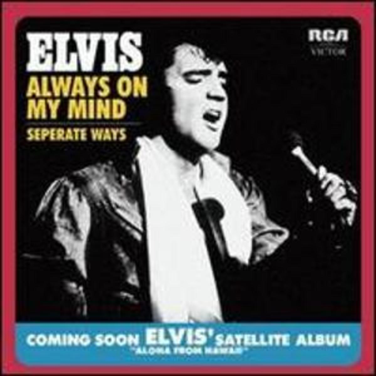 Elvis Presley - 1972 single