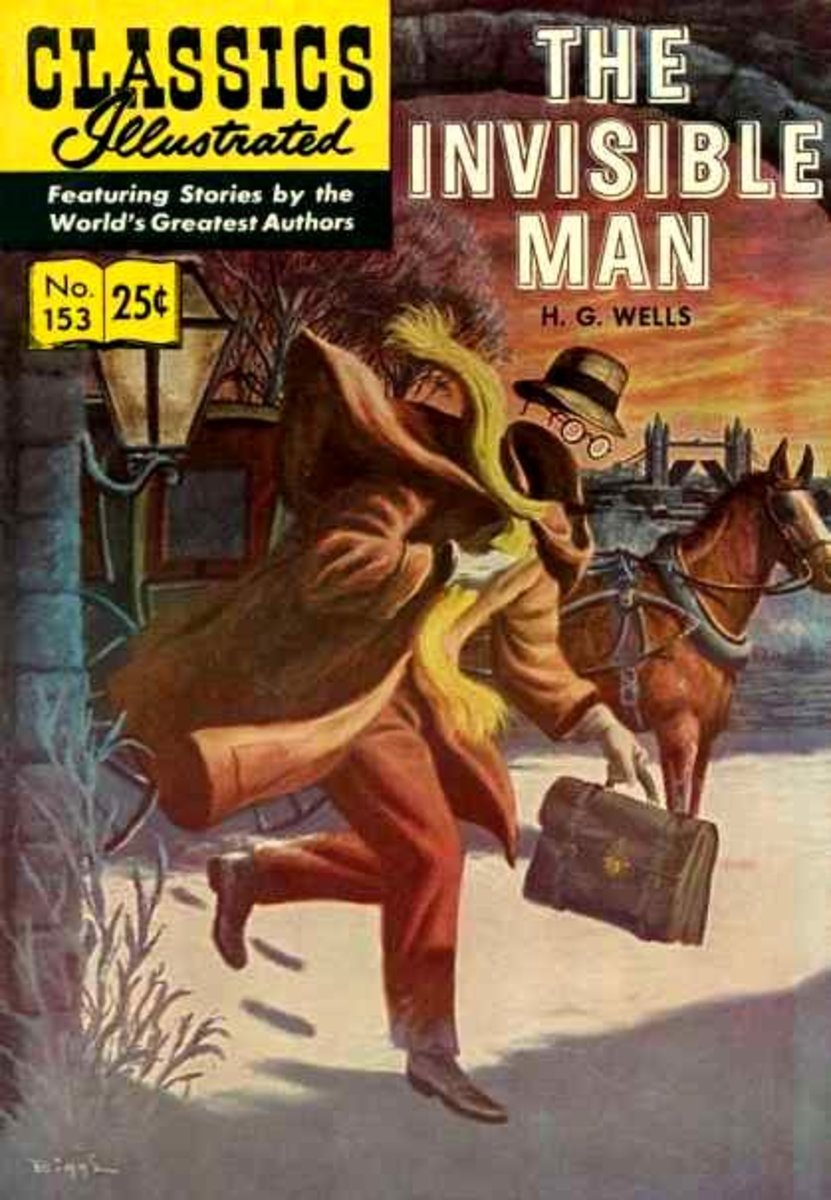 The Invisible Man- HG Wells