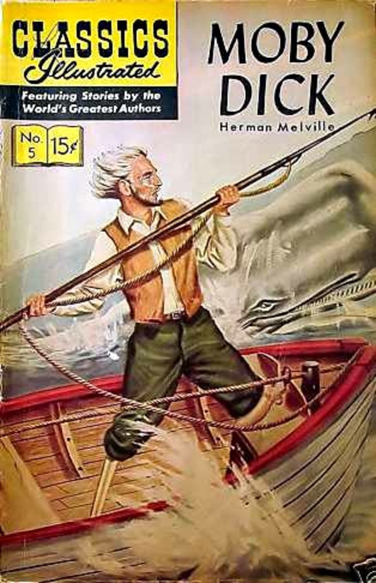 Moby Dick- Herman Melville