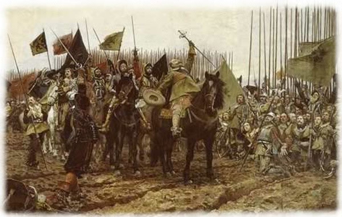 The Thirty Years War helped to proliferate Jehovah coins.  Picture of the 30 years war.