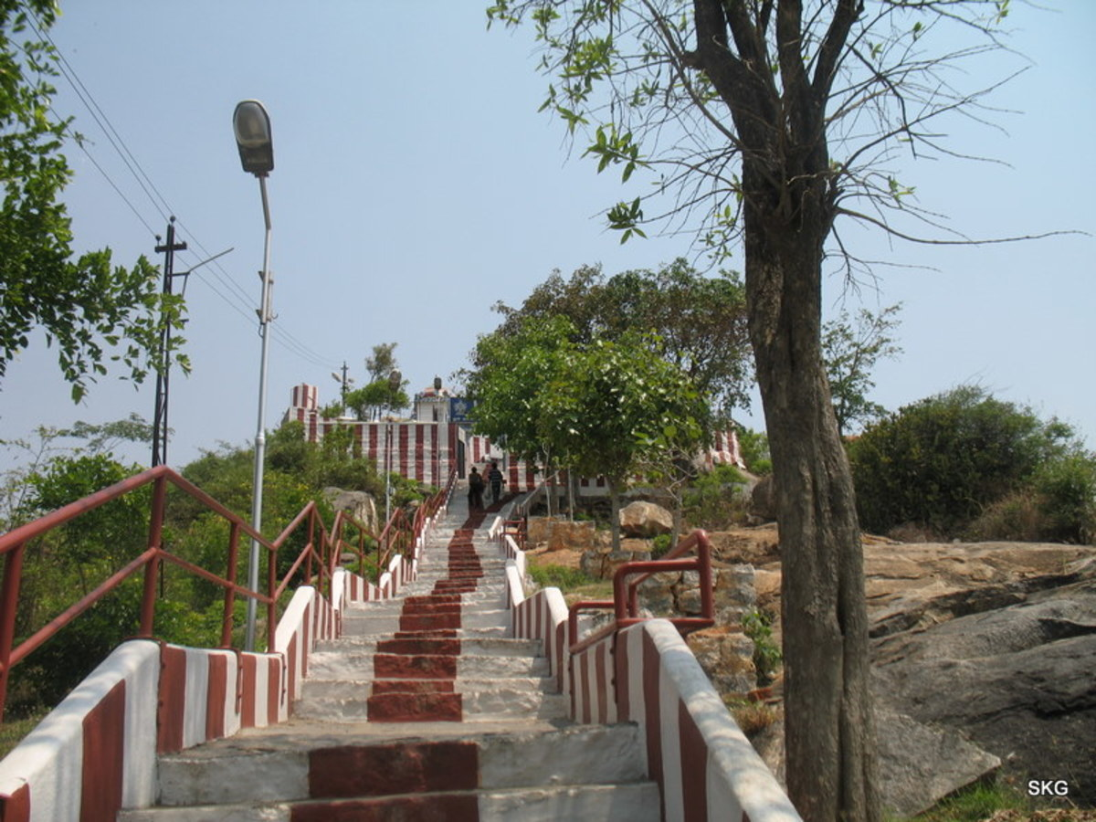 Steps leading to the Holy Temple