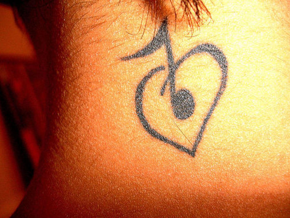 Music Tattoo Design