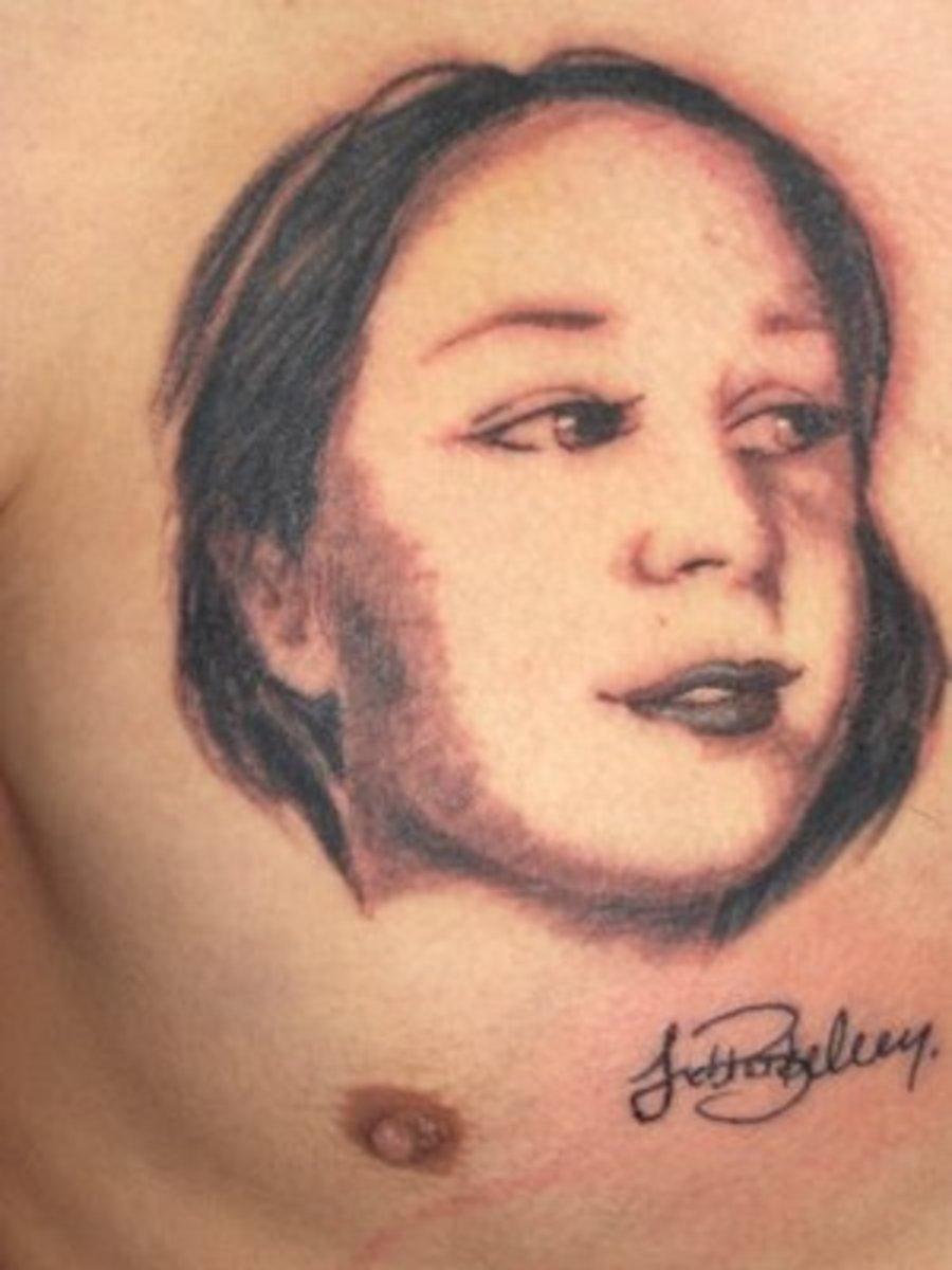 Portrait Tattoo Design