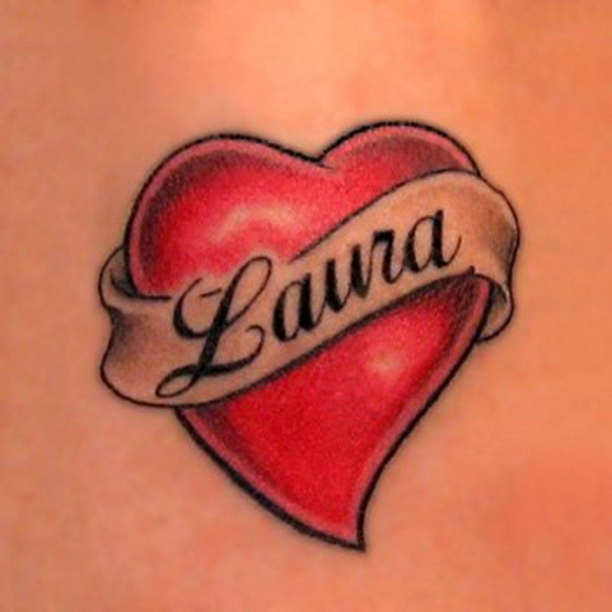 Heart Tattoo design