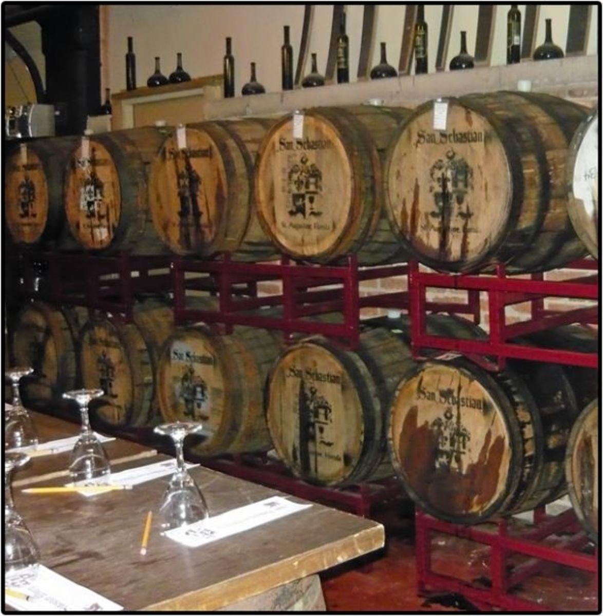 San Sebastian Winery - St Augustine, Florida