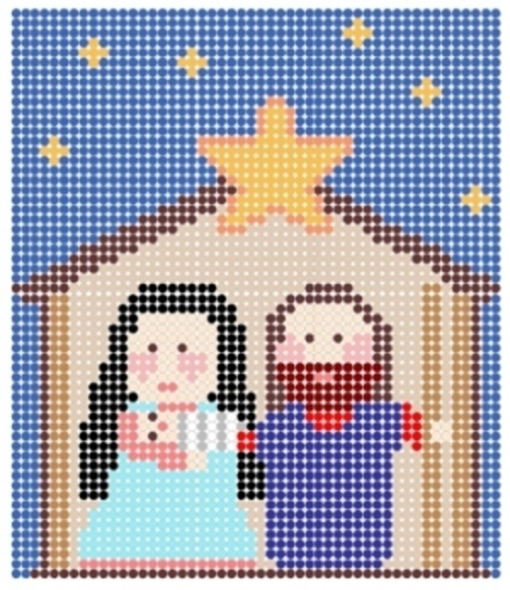 Perler Bead Christmas Patterns