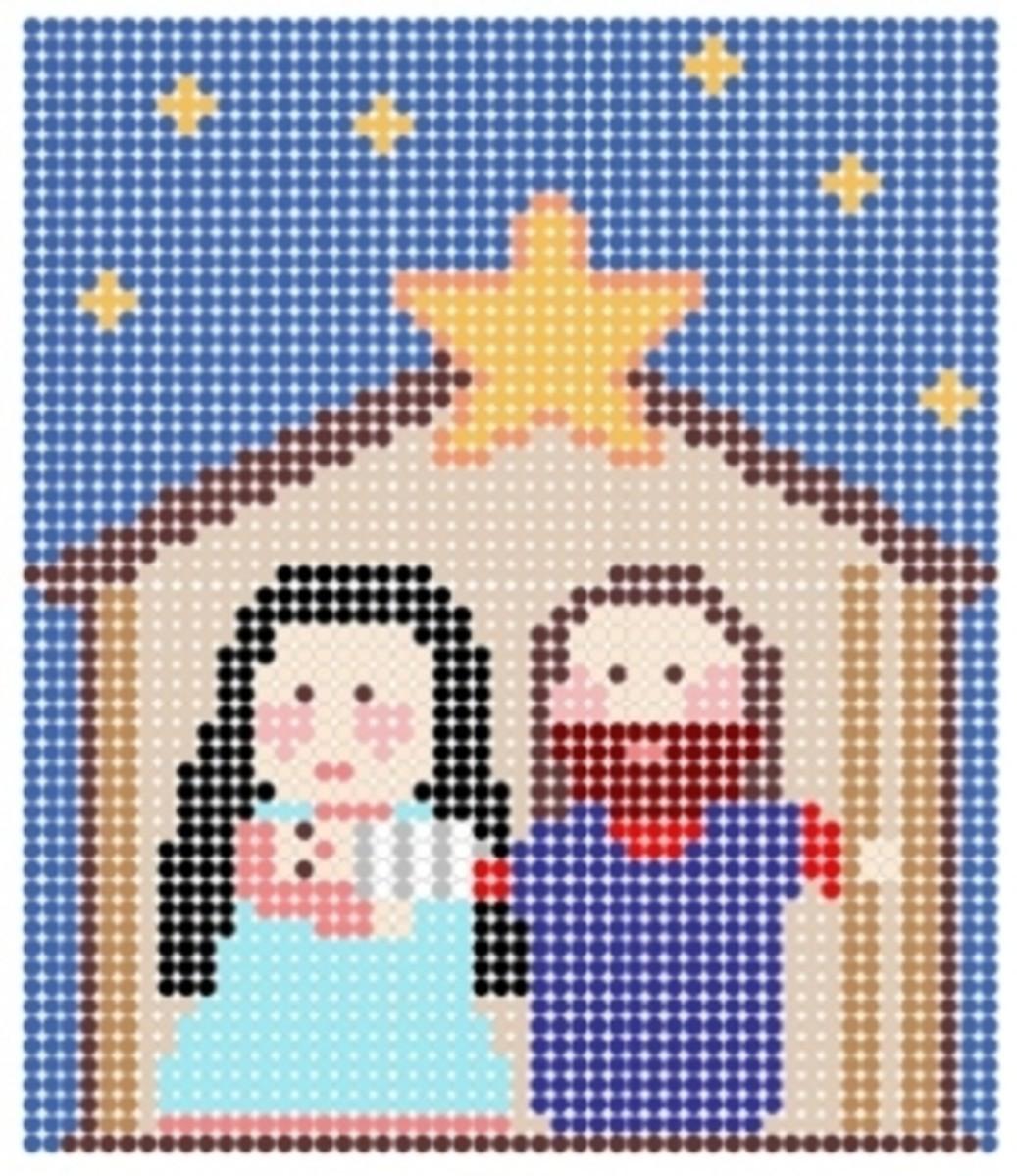 Perler Bead Christmas Patterns