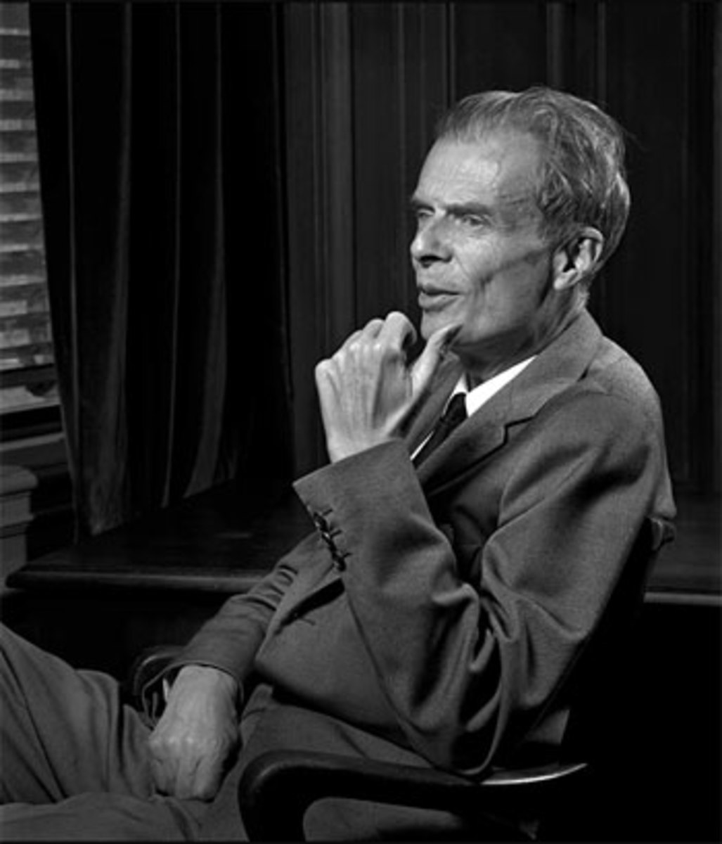 Aldous Huxley and a Fabian Socialist talked about a coming Social Dictatorship