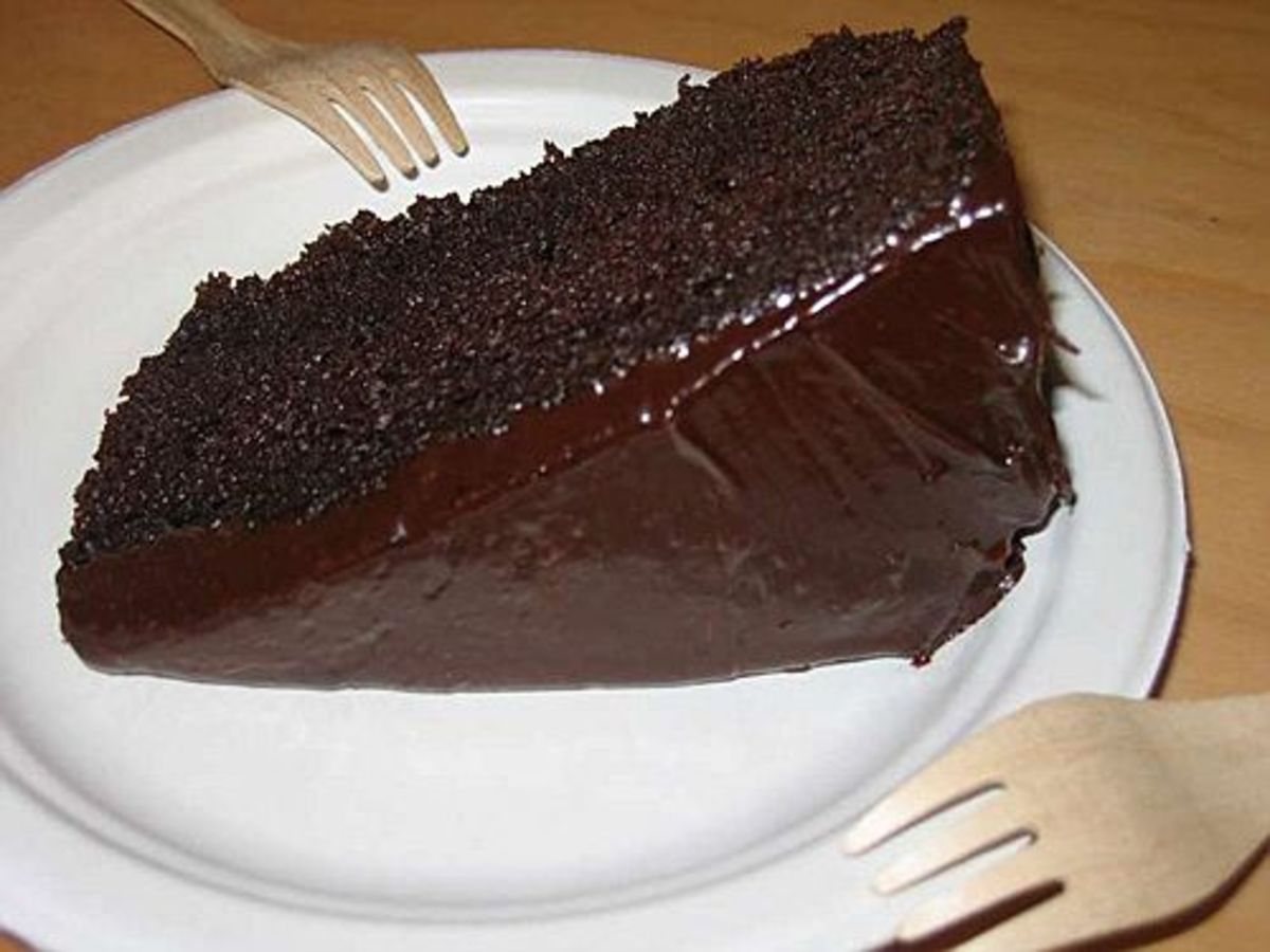 The Easiest And Most Delicious Chocolate Cake All You