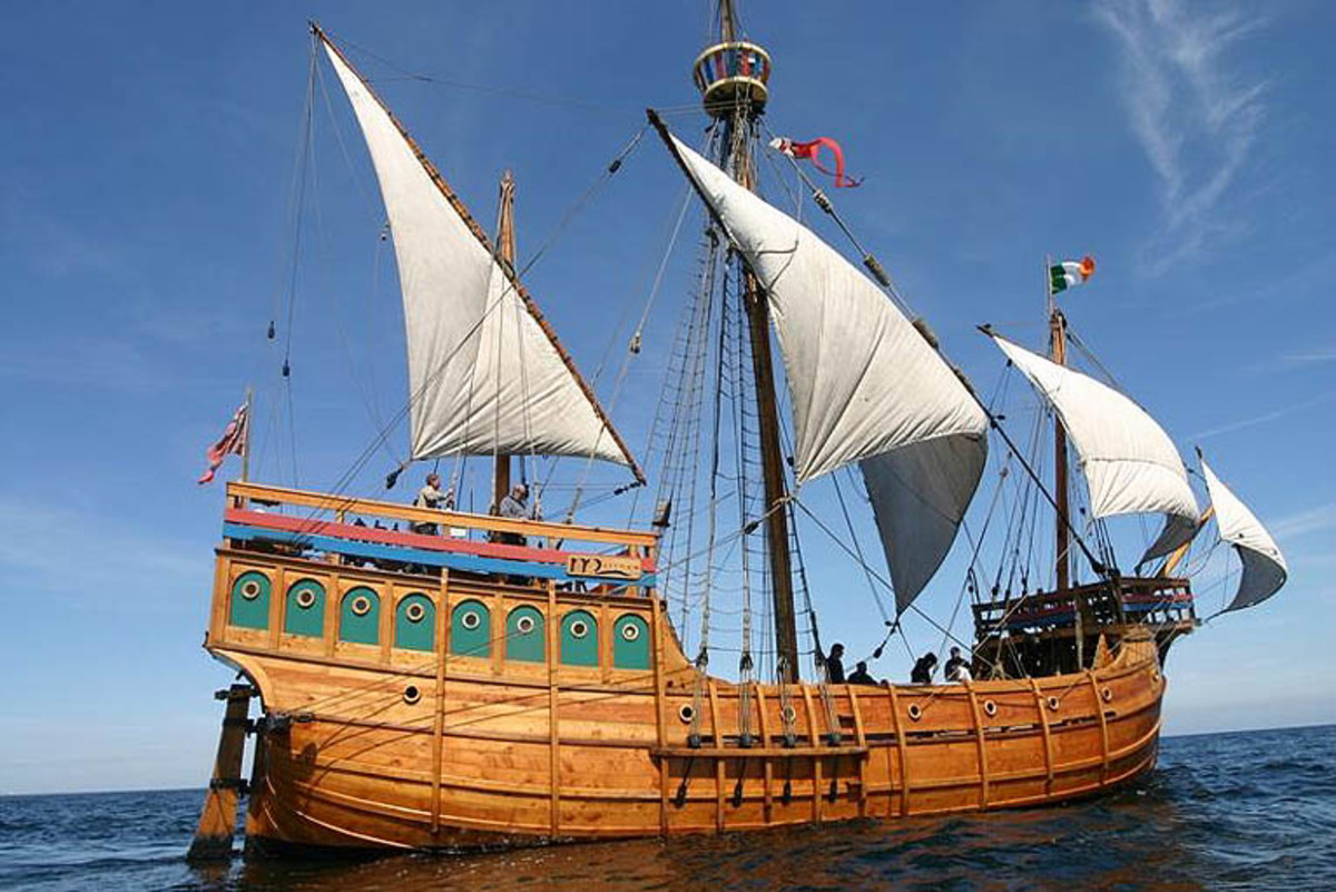The Matthew - Cabots ship out of Bristol, UK - Replica