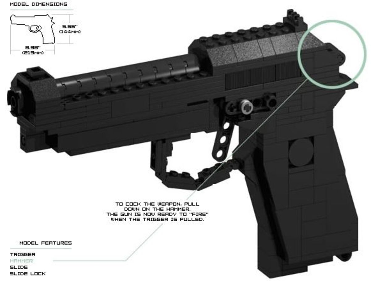 Purchase Lego Set Gun