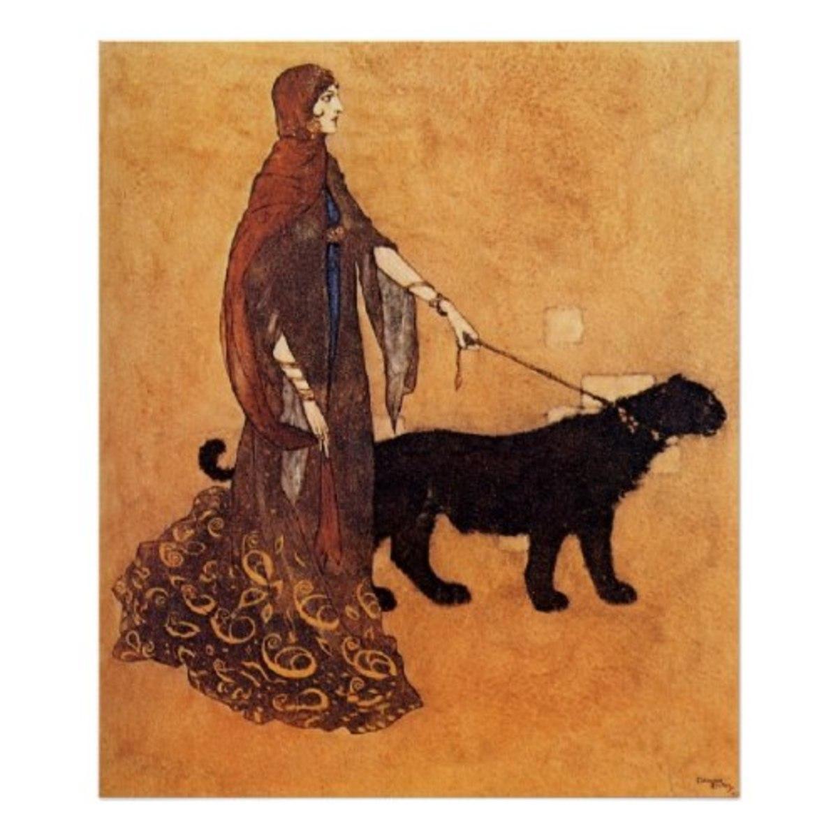 Arabian Nights by Edmund Dulac