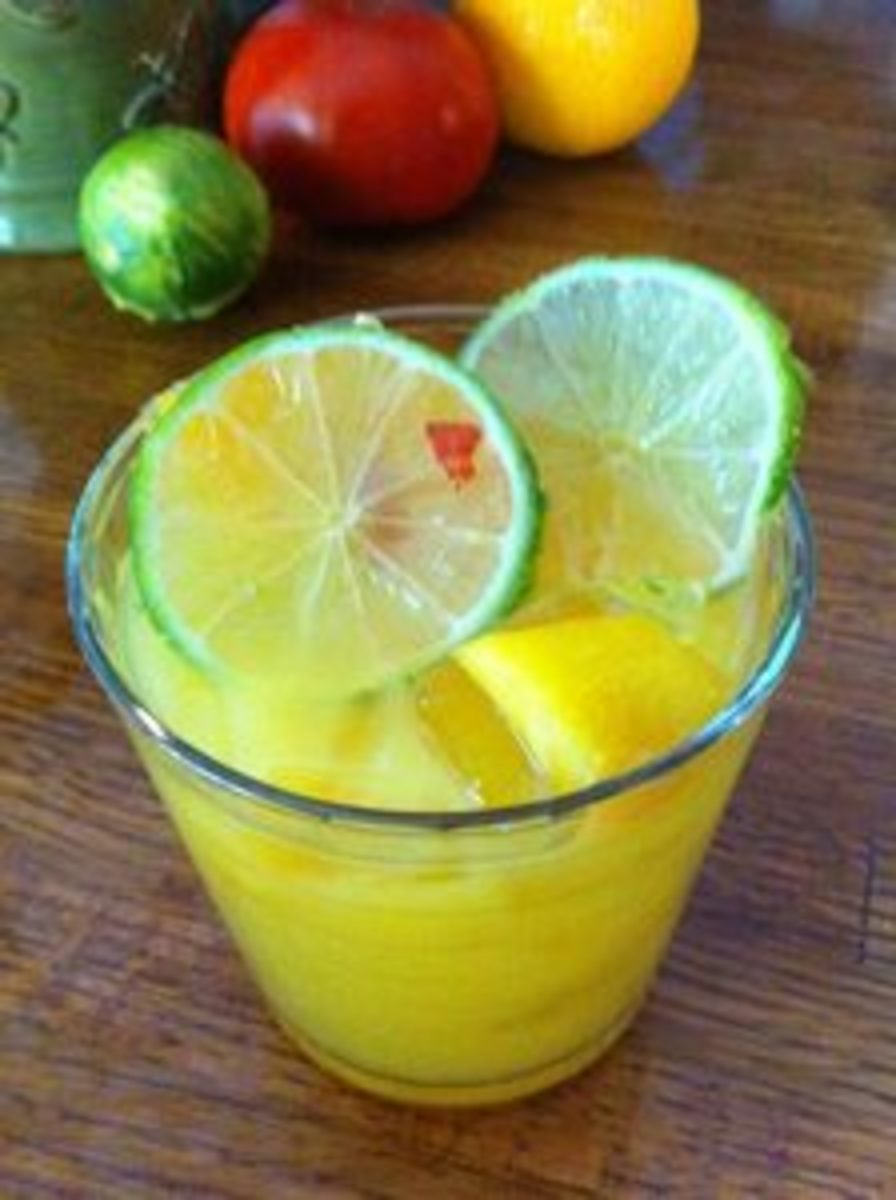 Fruit Drink with RUM