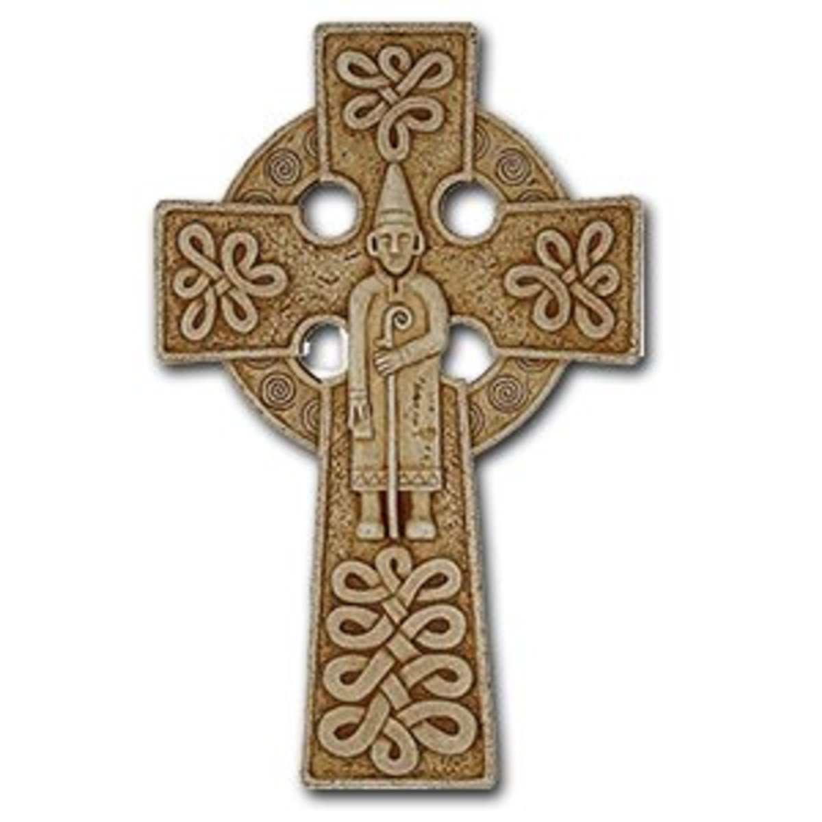 Celtic crosses have long been used as popular grave markers, but today they are often used to beautifully decorate homes or add a little Irish pride to an outfit.