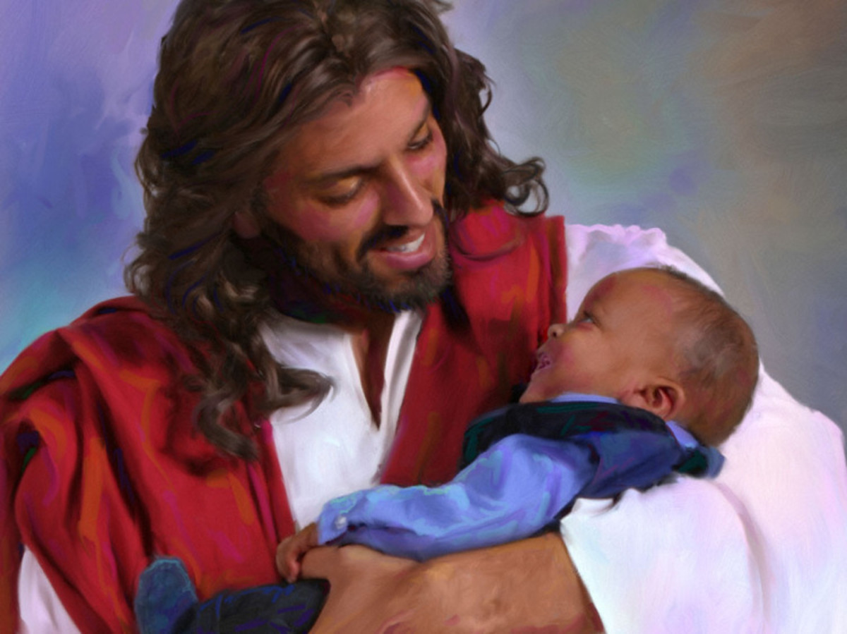 """""""He came to embrace the world in the arms of His love."""" ―Ellen G. White"""