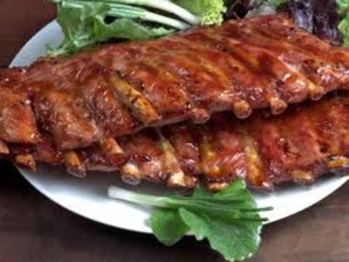 Barbecue ribs. Yummy!