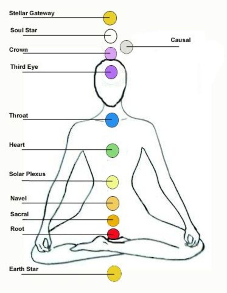 the 12 chakras