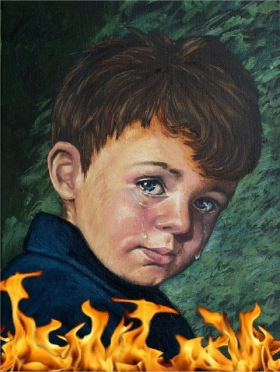 "Cursed Picture? ""The Crying Boy"""