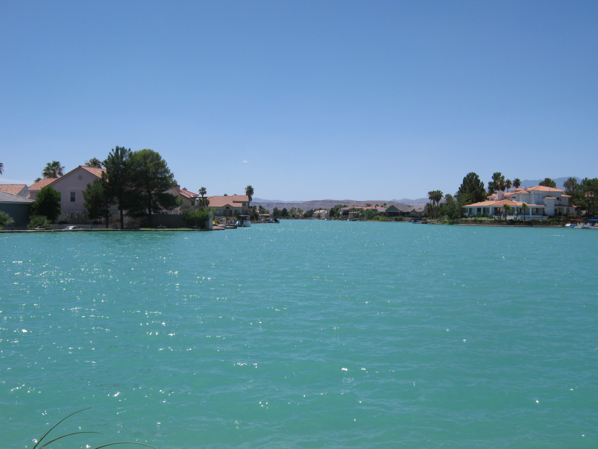 A Lake In Las Vegas? With Parks!