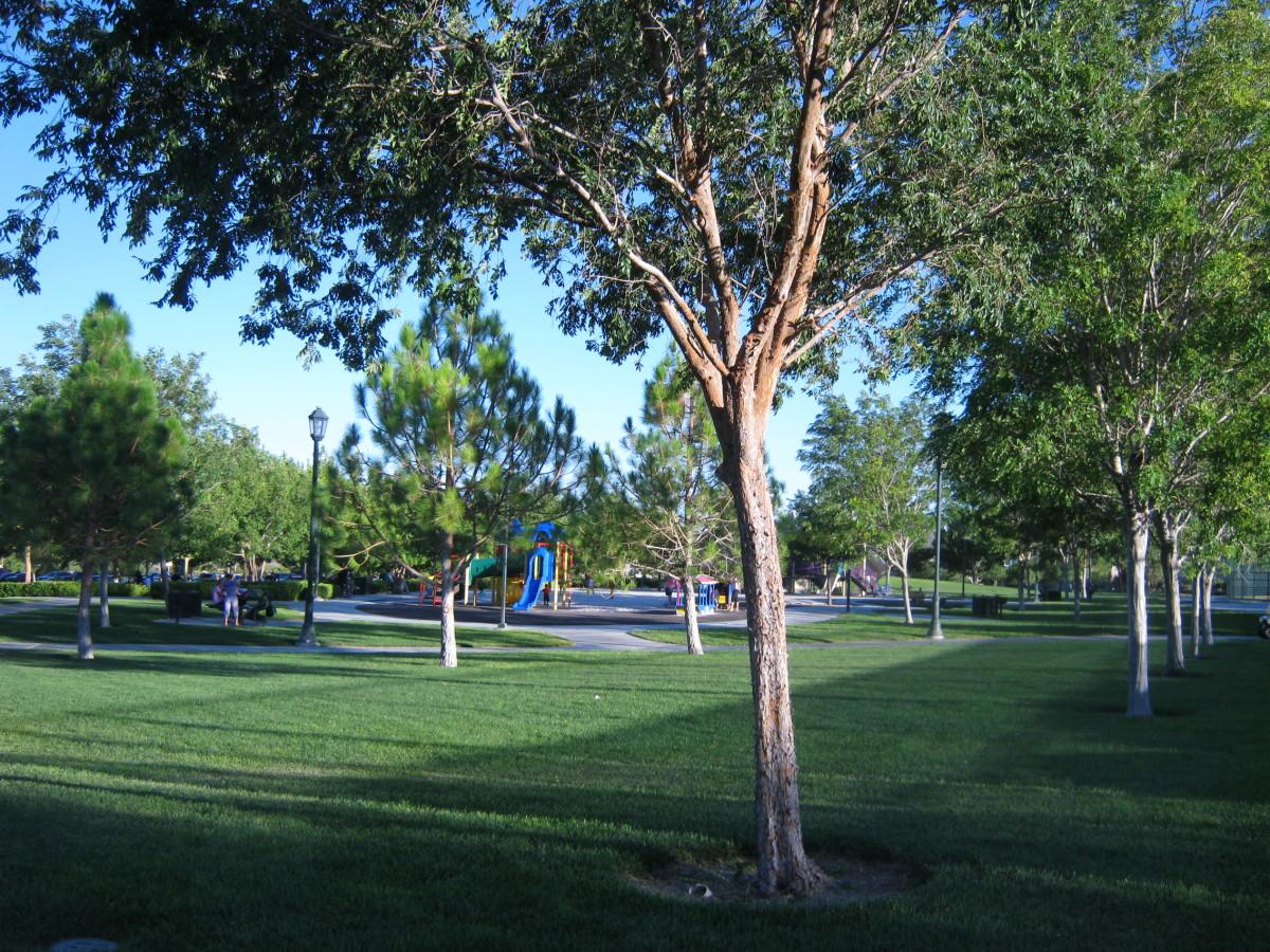 """The Gardens"" park in Summerlin"