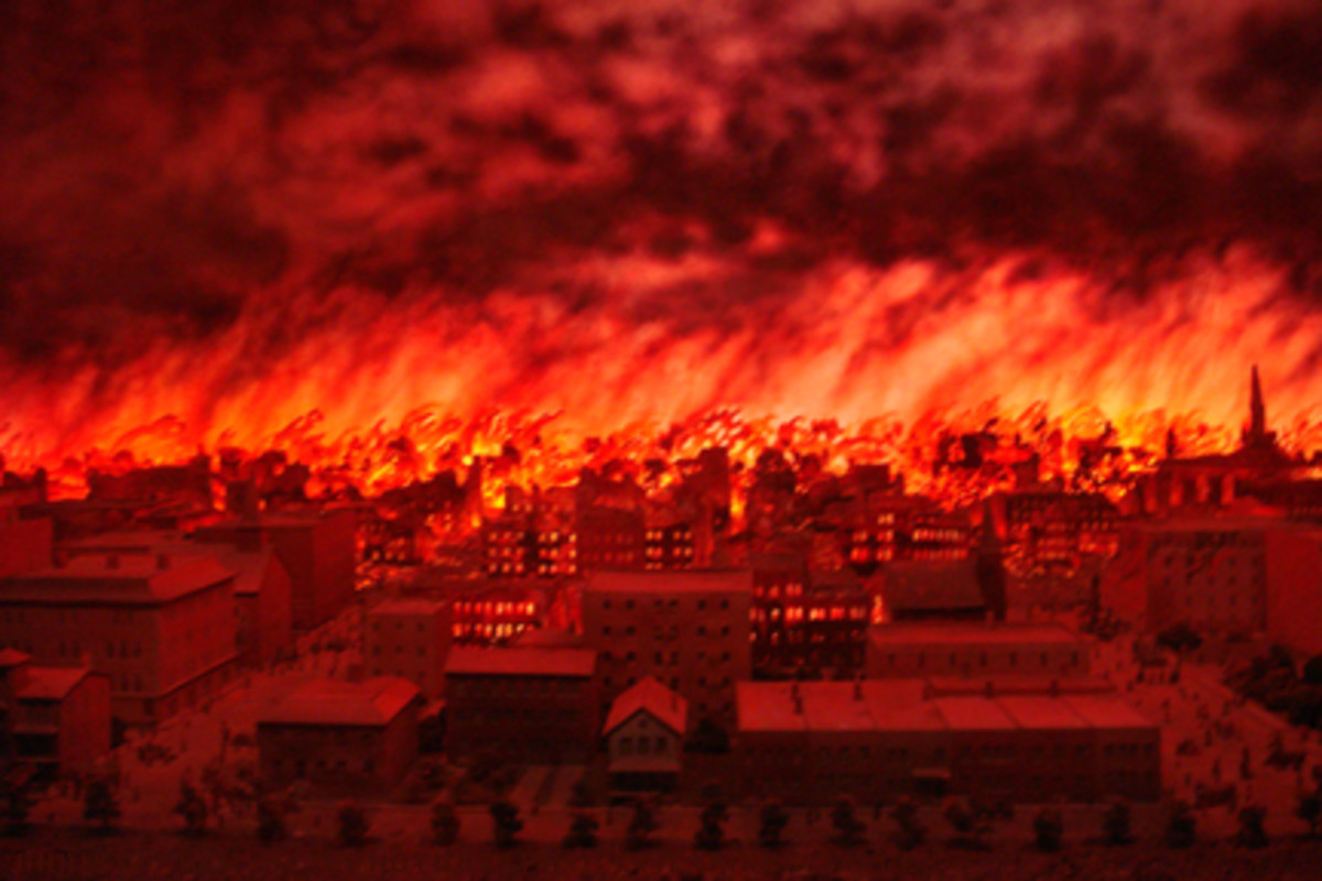 THE GREAT CHICAGO FIRE (1871)