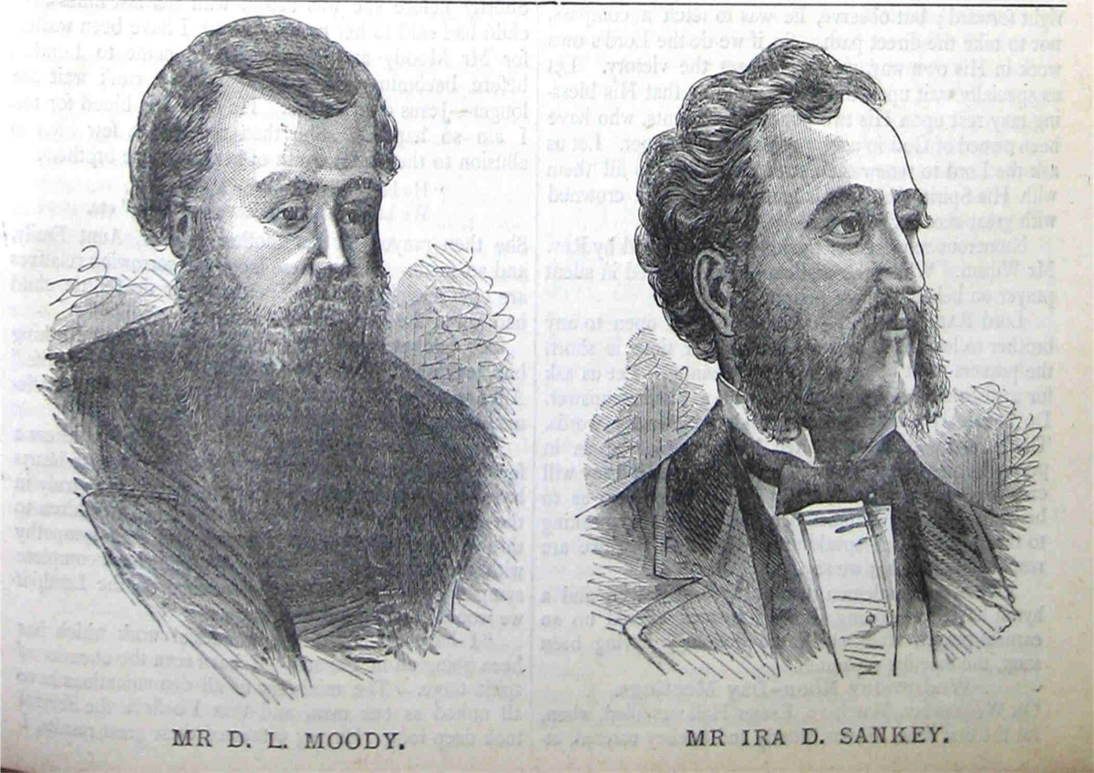 D L MOODY AND IRA SANKEY