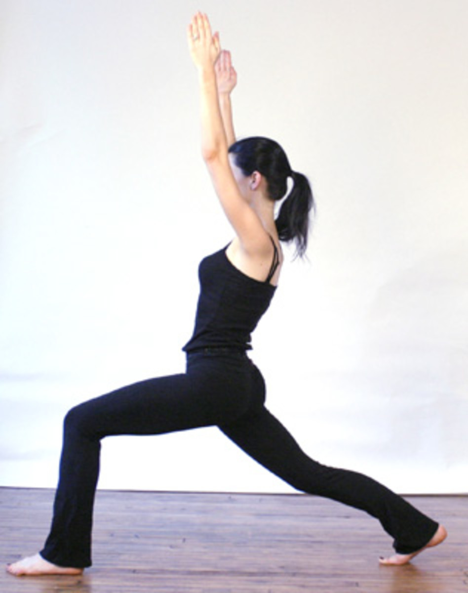 Yoga Exercise Position