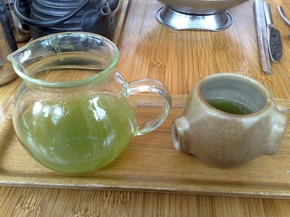 Green tea as an ephedrine free fat burner for endurance athletes